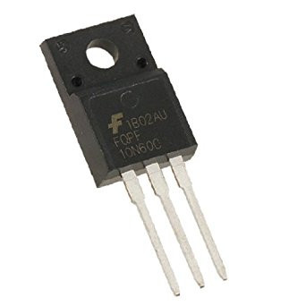 Транзистор FQPF10N60C N-канал 600В 9.5А