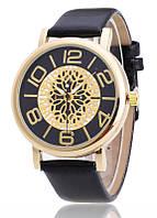 Женские часы Кружево Металл черные