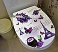 """Сидіння для унітазу з малюнком """"Paris"""" Elif Plastik, Туреччина 372-7, фото 2"""