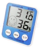 Термометр с гигрометром DC-108 LO