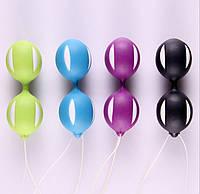 Вагинальные двойные шарики Кегеля для упражнений массаж вибрация