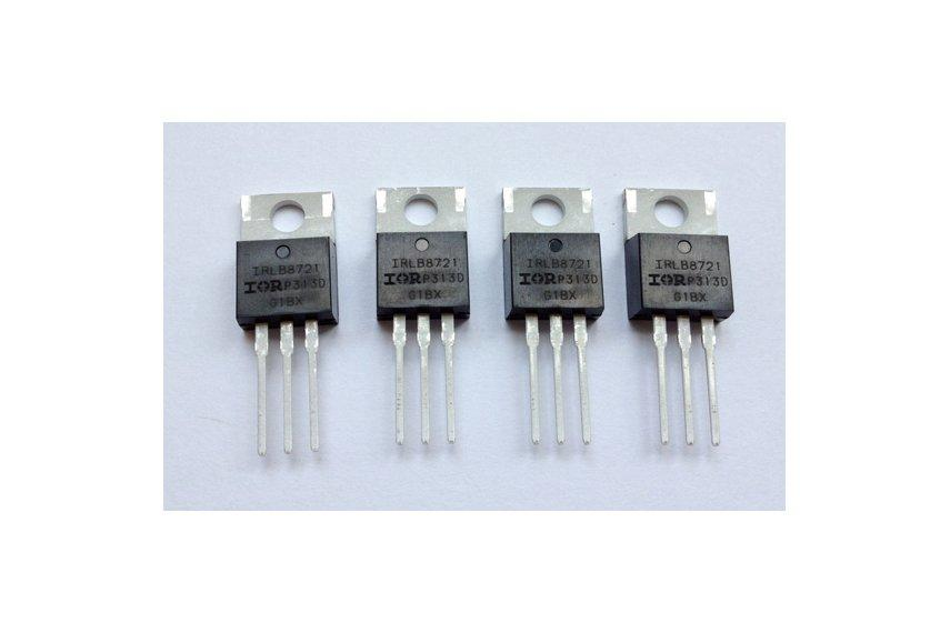 Транзистор IRLB8721PBF N-канал 30В 62А