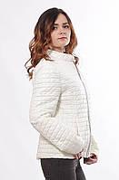 Женская демисезонная куртка светлая 44-68р