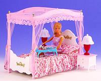 Набор мебели Gloria, мебель для куклы, кукольная мебель, спальня с тумбочками