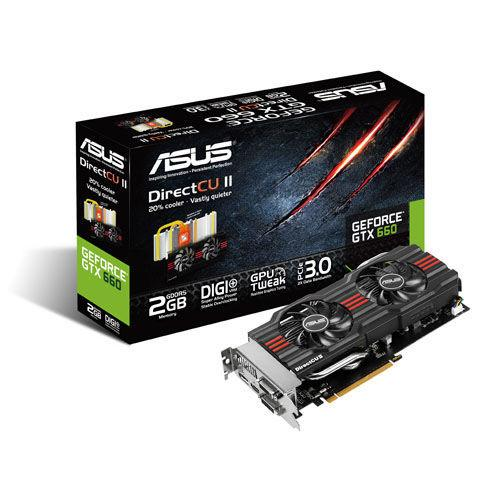 "Видеокарта Asus GTX660-DC20-2GD5 2GB GDDR5 192bit ""Over-Stock"" Б/У"