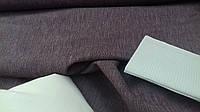 Льняная ткань для постельного белья меланжевая, с розовыми нитками (шир. 260 см)
