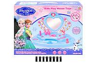 Туалетный столик музыкальный Холодное Сердце Frozen 901-386 музыкальныеи световые эффекты в коробке43*34*8,