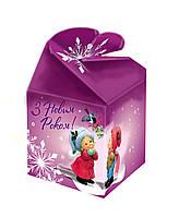 Упаковка для новогодних подарков бантик 200 г