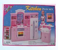 Набор мебели Gloria,набор кухня, мебель для куклы, кукольная мебель