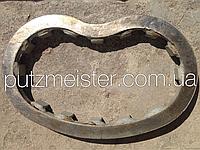 Зношувальна, изнашиваемая плита автобетононасоса з міксером Putzmeister PUMI з насосом CS