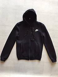 Детская спортивная кофта для мальчика на флисе Nike (12 - 15 лет) купить оптом в Украине