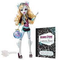 Кукла Монстер Хай Лагуна Блю Базовая с питомцем Monster High Lagoona Blue Basic