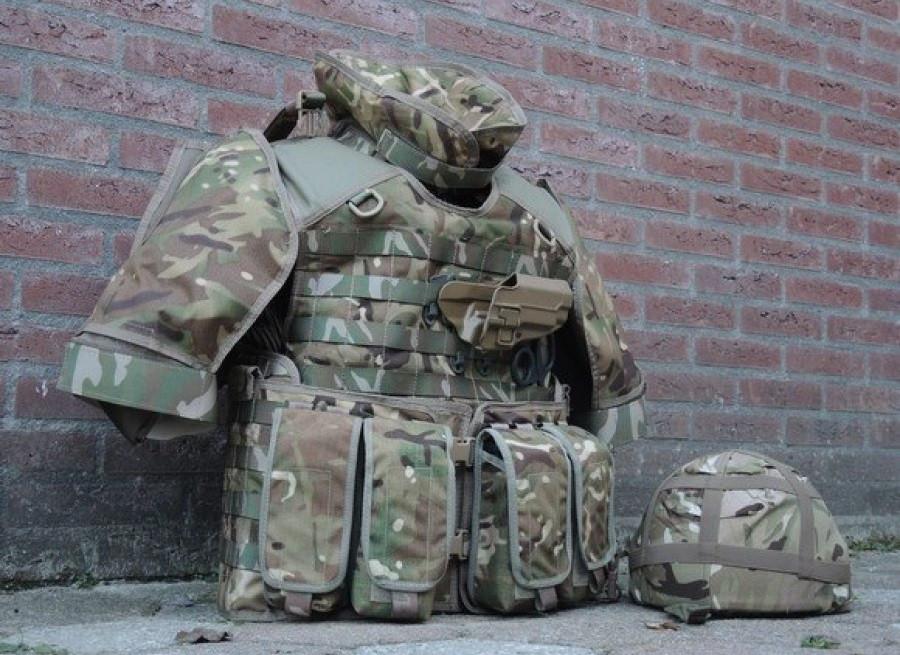 Чехол бронежилета-разгрузки Osprey Mk 4A Body Armour оригинал ВС Великобритании - MTP
