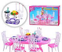 Набор мебели Gloria,набор столоваямебель для куклы, кукольная мебель