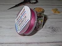 Нить для бисера TYTAN 100, цвет №2574, лилово-розовый, 100м