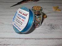 Нить для бисера TYTAN 100, цвет №2575, лазурный голубой, 100м