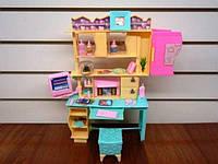 Набор мебели Gloria,набор спальня с трюмо мебель для куклы, кукольная мебель