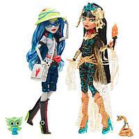 Набор кукол Монстер хай Клео Де Нил Гулия Йелпс Комик Кон 2017 Monster High Cleo De Nile Ghoulia Yelps SDCC