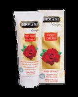 Крем для ног с маслом розы дезодорирующий и расслабляющий Hemani 75 мл