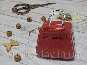 Коробочка для мелочей (игольница) - чемоданчик, принт №8