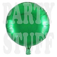 Фольгированный шар Зеленый, 44 см