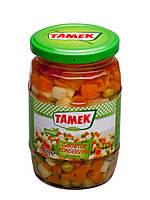 Микс из маринованных овощей (горох, морковь, картофель), 720 мл