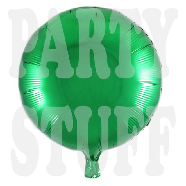 фольгированный шар зеленый