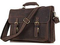 Кожаная сумка портфель мужская   7205R