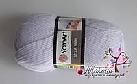 Пряжа Бэлла бэби  Bella Baby Yarnart, 654, бледно-сиреневый