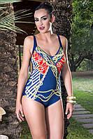 Сплошной купальник Amarea 155-16 50 Синий