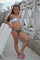 Детский раздельный купальник Della Lady Bird 116 (5) Голубой Della Lady Bird