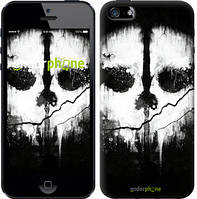 "Чехол на iPhone 5 Call of Duty череп ""150c-18-8079"""