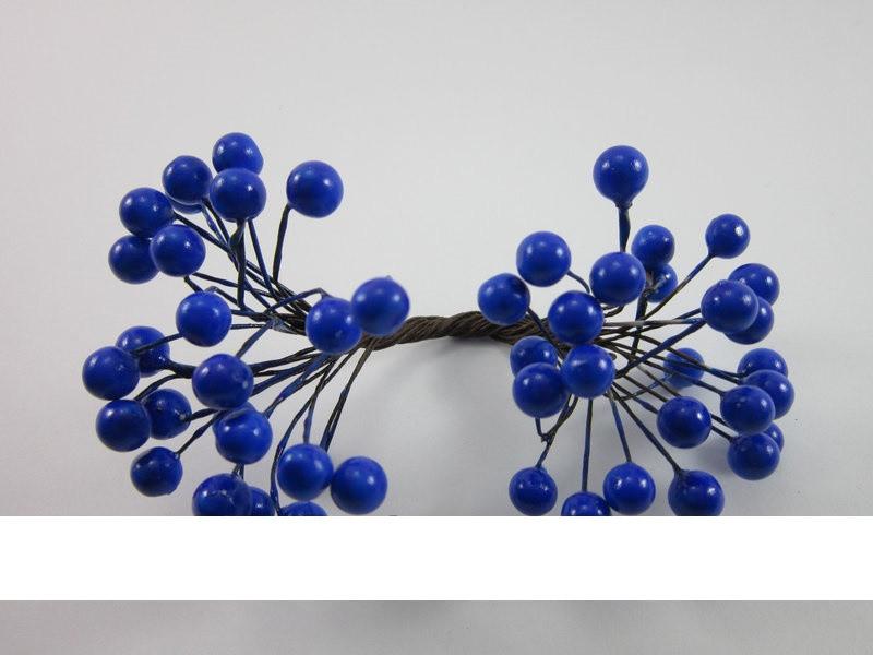 Рябинка в лаке (синий)