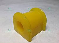 Втулка стабилизатора Газель (срезанная) полиуретан желт. (пр-во Липецк, Россия)