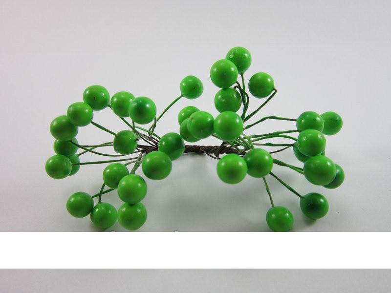 Рябинка в лаке (зеленый)
