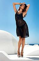 Черный пляжный сарафан сетка Amarea 17074 42(S) Черный Amarea 17074