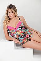 Цельный цветочный купальник Miss Marea 17701 50 Цветной MissMarea 17701 c9112c2bc78d9