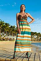 Длинное пляжное платье с паетками Vacanze Italiane VE 6032 46(L) Цветной