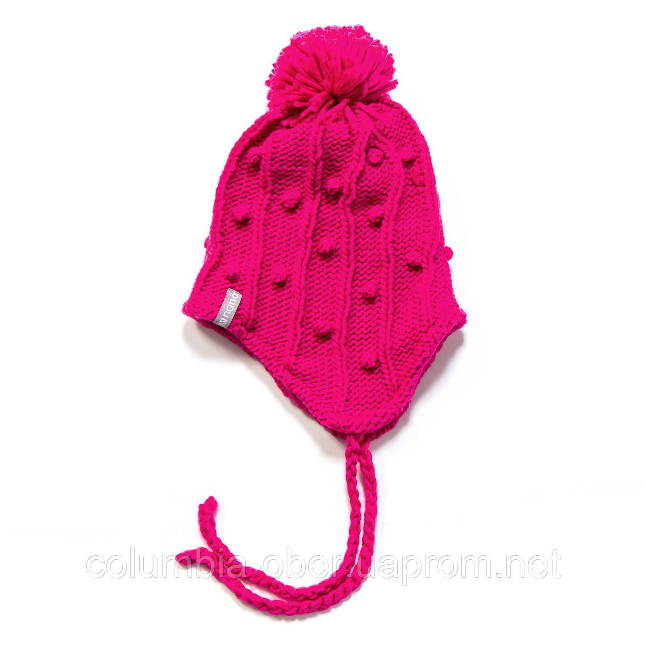 Зимняя детская шапка для девочки Nano F17 TU 272 Virtual Pink. Размеры  2/3х- 7-12.