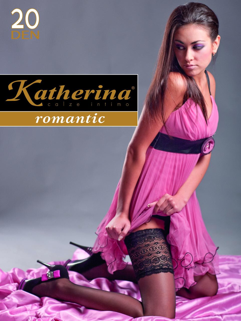 Чулки женские / жіночі Calze 20 den Elegante Bordo (3234) TM KATHERINA