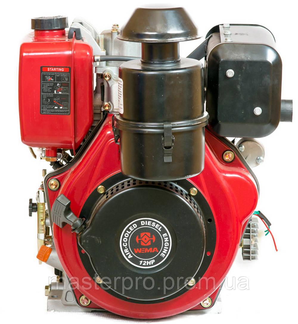 Двигатель дизельный Weima WM188FBE (Цилиндр съемный)