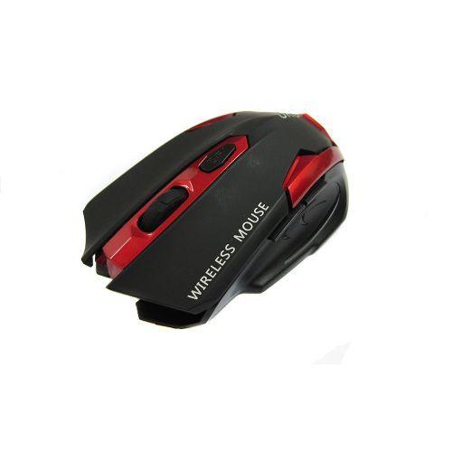 Беспроводная оптическая мышка мышь G8 Black Red