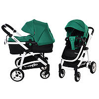 Детская универсальная коляска-трансформер 2 в 1 CARRELLO Fortuna