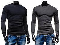 Приталенный свитер с начесом