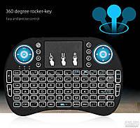 Клавиатура для Smart TV W-Shark с тачпадом Black ENG, фото 1