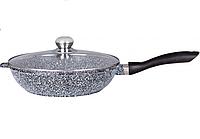 Сковорода EDINBERG 24см, 2.4 л. ГРАНИТ, фото 1