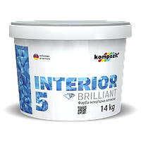 Краска интерьерная INTERIOR 5, 1,4 кг