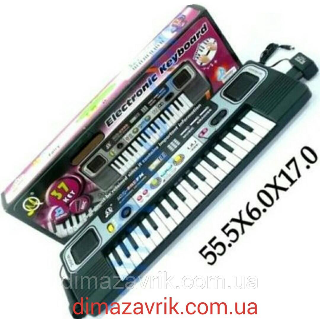 Детский музыкальный синтезатор-пианино MQ023FM