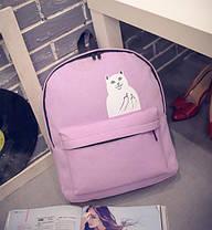 """Тканевый рюкзак с наглым котом """"Кот Fuck"""", фото 2"""