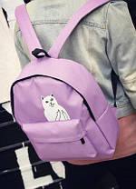 """Тканевый рюкзак с наглым котом """"Кот Fuck"""", фото 3"""